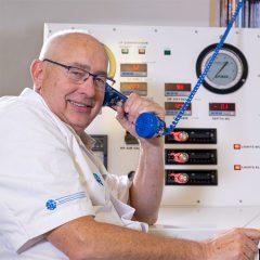 Drs. A. van den Brink, bedieningspaneel zuurstoftank, Delta Medicine