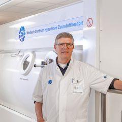 Drs. T.P. van Rees Vellinga, zuurstoftank, Delta Medicine