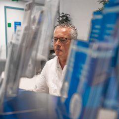 Eddy Mulder, operator, verpleegkundige bij Delta Medicine